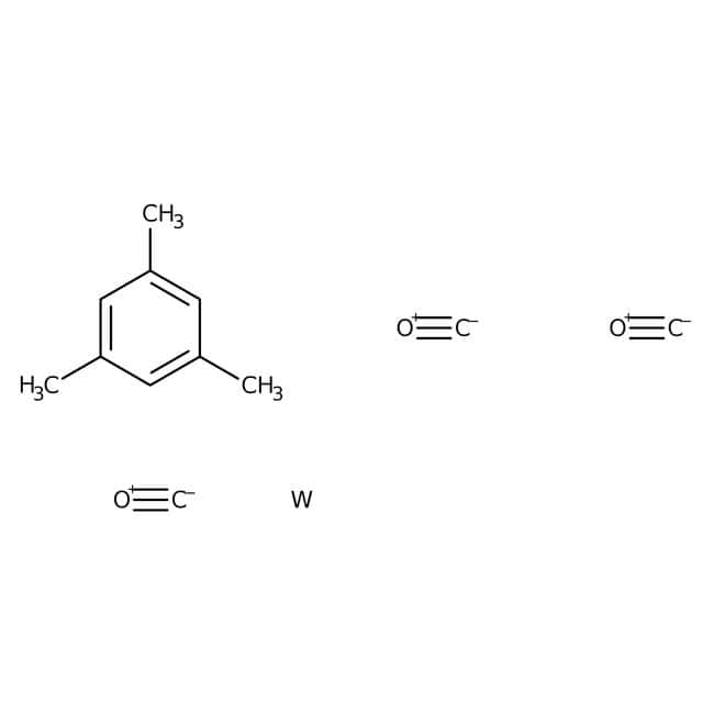 Alfa Aesar™(Mesitylen)Tungsten-Tricarbonyl, 98% 250mg Alfa Aesar™(Mesitylen)Tungsten-Tricarbonyl, 98%
