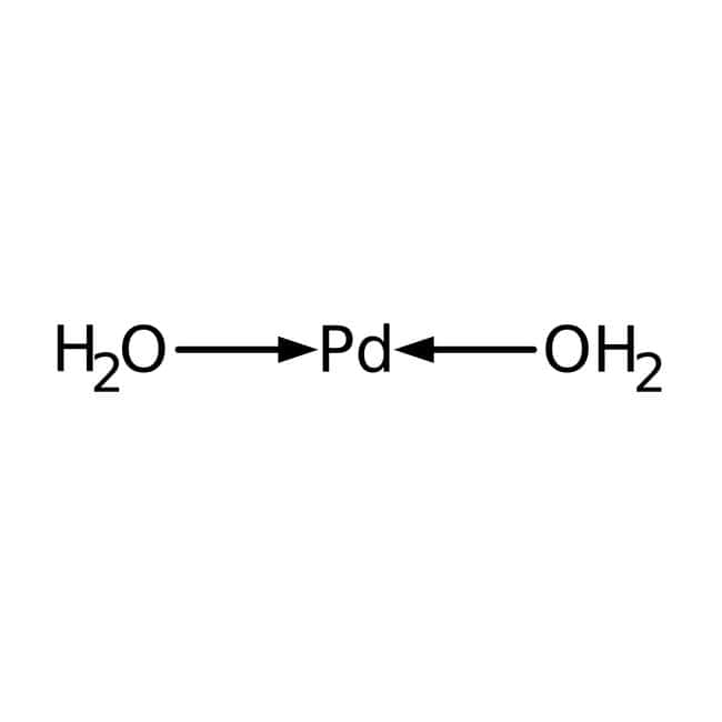 Palladium hydroxide on carbon, powder, unreduced, 20% Pd, moisture 50%, Acros Organics: Other Inorganic Compounds Chemicals