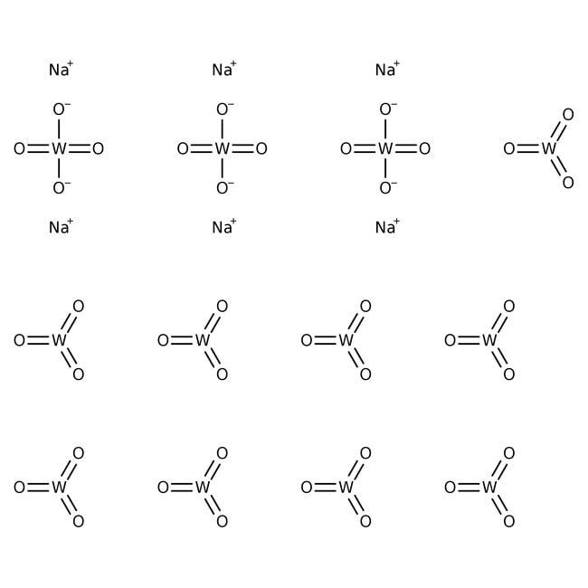 Sodium metatungstate, 2.82 density solution in water, stabilized, ACROS Organics™ 50mL; Glass bottle Sodium metatungstate, 2.82 density solution in water, stabilized, ACROS Organics™