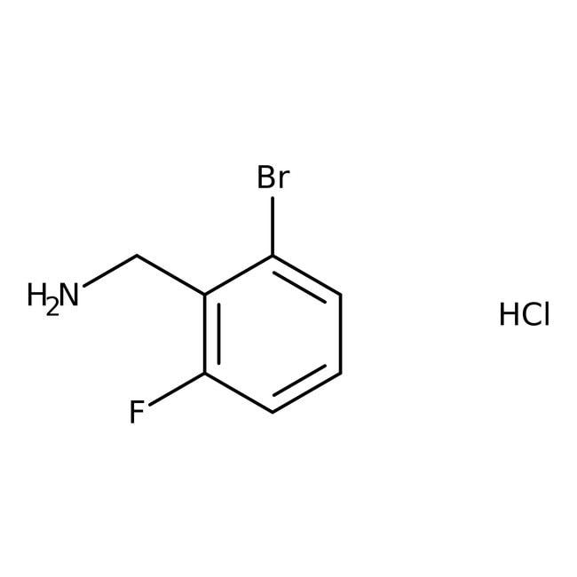 Alfa Aesar™2-Bromo-6-fluorobenzylamine hydrochloride, 96%