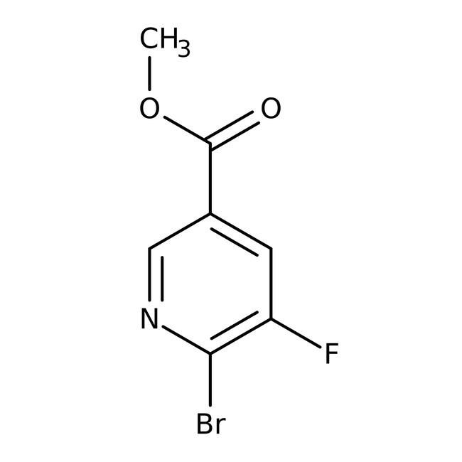Alfa Aesar™Methyl 6-bromo-5-fluoronicotinate, 98% 5g Alfa Aesar™Methyl 6-bromo-5-fluoronicotinate, 98%