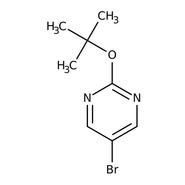 Alfa Aesar™5-Bromo-2-(tert-butoxy)pyrimidine, 95% 1g Alfa Aesar™5-Bromo-2-(tert-butoxy)pyrimidine, 95%