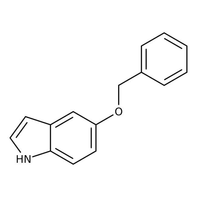 5-Benzyloxyindole, 95%, ACROS Organics™: Ethers Organooxygen compounds