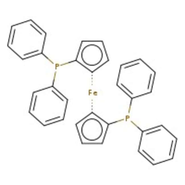 1,1'-Bis(diphenylphosphino)ferrocene, 98%, ACROS Organics