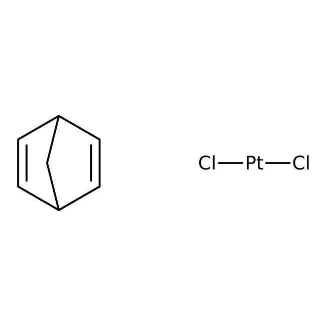Alfa Aesar™Dichloro(norbornadiene)platinum(II), Pt 54.4% 5g Alfa Aesar™Dichloro(norbornadiene)platinum(II), Pt 54.4%