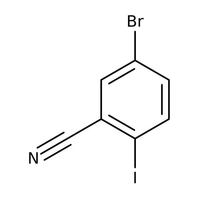 Alfa Aesar  5-Bromo-2-iodobenzonitrile, 98+%