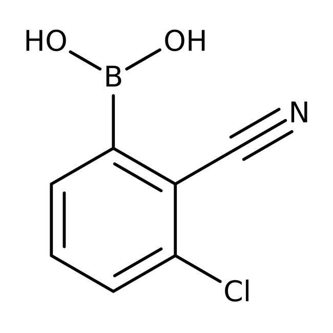 Alfa Aesar™3-Chloro-2-cyanobenzeneboronic acid, 95%