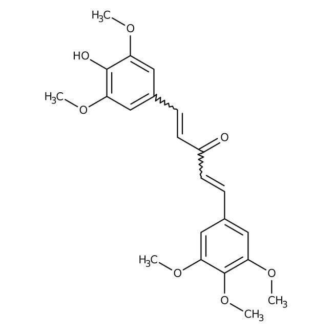 (1E,4E)-1-(4-Hydroxy-3,5-dimethoxyphenyl)-5-(3,4,5-trimethoxyphenyl)-1,4-pentadiene-3-one 95.0+%, TCI America™