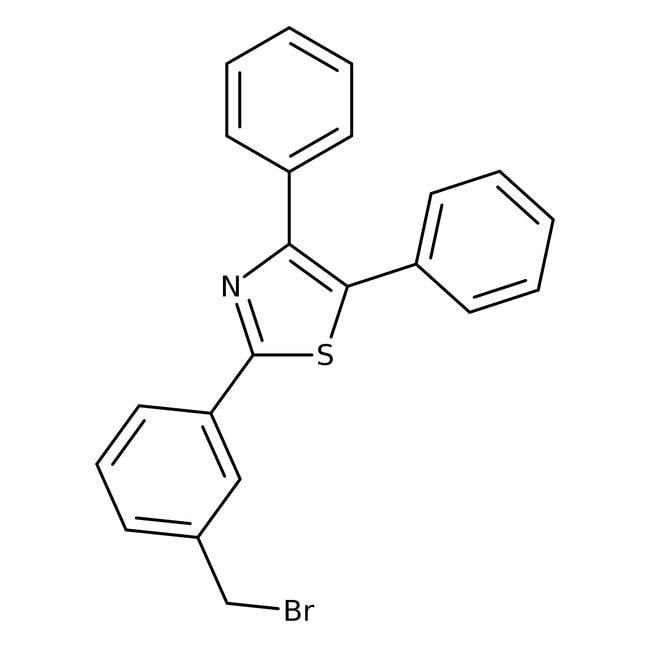 2-[3-(Bromomethyl)phenyl]-4,5-diphenylthiazole, 97%, Alfa Aesar™ 250mg 2-[3-(Bromomethyl)phenyl]-4,5-diphenylthiazole, 97%, Alfa Aesar™