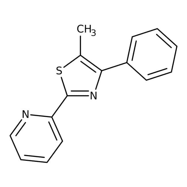 Alfa Aesar™5-Methyl-4-phenyl-2-(2-pyridyl)-thiazol, 97% 1g Alfa Aesar™5-Methyl-4-phenyl-2-(2-pyridyl)-thiazol, 97%