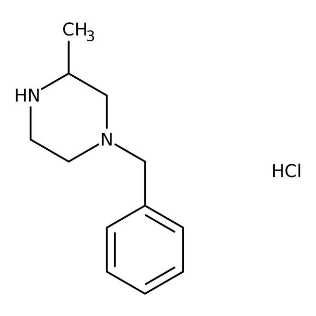 Alfa Aesar™1-Benzyl-3-Methylpiperazin-Hydrochlorid, 98+% 1g Alfa Aesar™1-Benzyl-3-Methylpiperazin-Hydrochlorid, 98+%