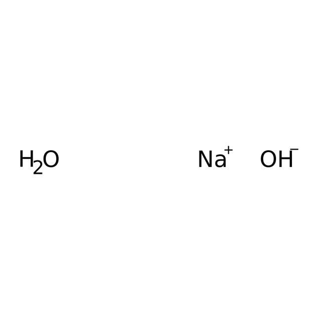 Sodium hydroxide monohydrate, 99.996% (metals basis), Alfa Aesar
