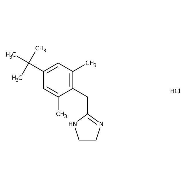 Xylometazoline Hydrochloride, Spectrum