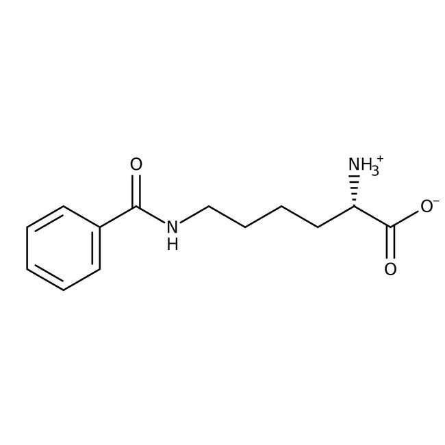 Nepsilon-Benzoyl-L-lysine, 98%, ACROS Organics