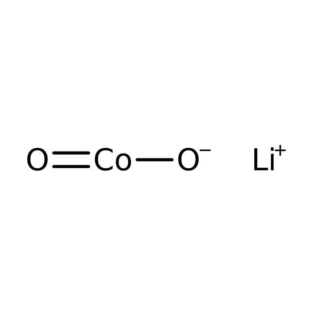 Lithium cobalt(III) oxide, 97%, Alfa Aesar™: Metals Salts and Inorganics