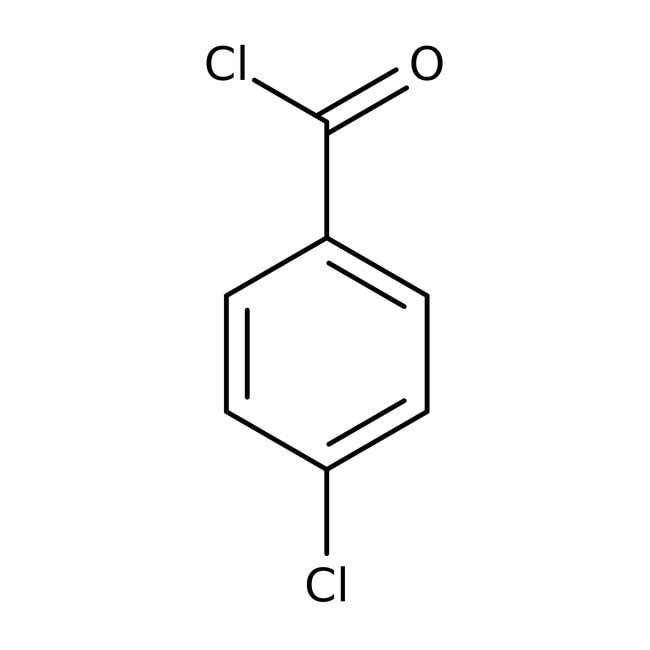 4-Chlorobenzoyl chloride, 99+%, ACROS Organics™ 2.5L; Glass bottle 4-Chlorobenzoyl chloride, 99+%, ACROS Organics™