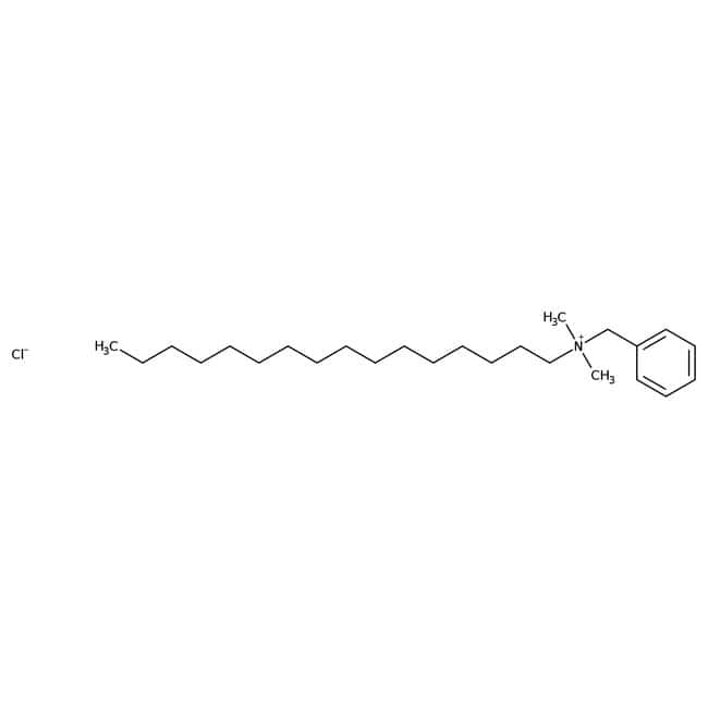 Benzyldimethylhexadecylammonium chloride hydrate, 97%, ACROS Organics™