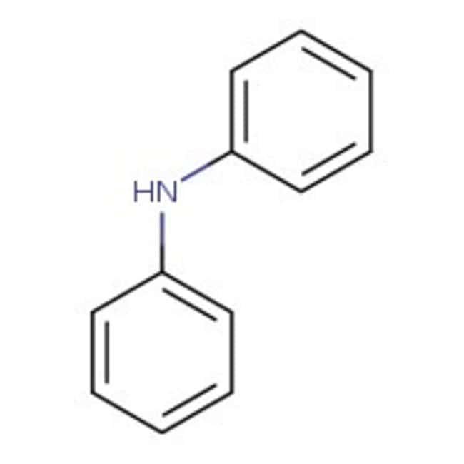 Diphenylamine, 99%, pure, ACROS Organics™ 100g; Glass bottle Diphenylamine, 99%, pure, ACROS Organics™