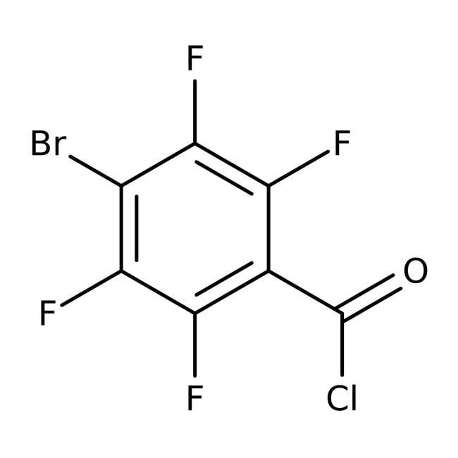 Alfa Aesar™4-Bromo-2,3,5,6-tetrafluorobenzoyl chloride, 98% 25g Alfa Aesar™4-Bromo-2,3,5,6-tetrafluorobenzoyl chloride, 98%