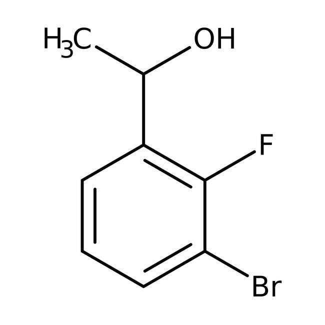 Alfa Aesar  1-(3-Bromo-2-fluorophenyl)ethanol, 98%