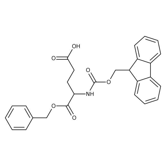 Alfa Aesar™N-Fmoc-L-glutamic acid 1-benzyl ester, 95% 5g Alfa Aesar™N-Fmoc-L-glutamic acid 1-benzyl ester, 95%