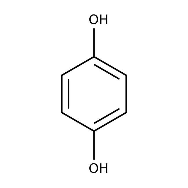Hydroquinone, 99.5%, ACROS Organics™ 50g Hydroquinone, 99.5%, ACROS Organics™