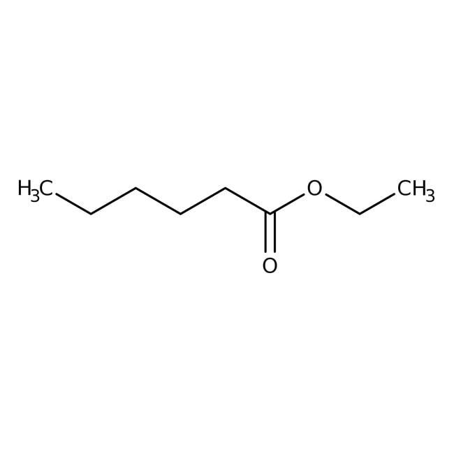 Ethyl caproate, 99+%, ACROS Organics™ 5mL; Glass bottle Ethyl caproate, 99+%, ACROS Organics™