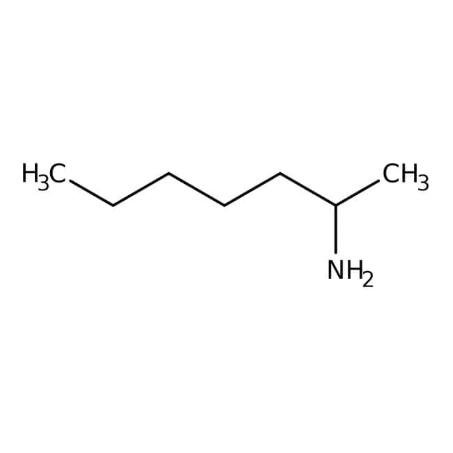 Alfa Aesar™ (+/-)-2-Aminoheptane, 98+%: Primary amines