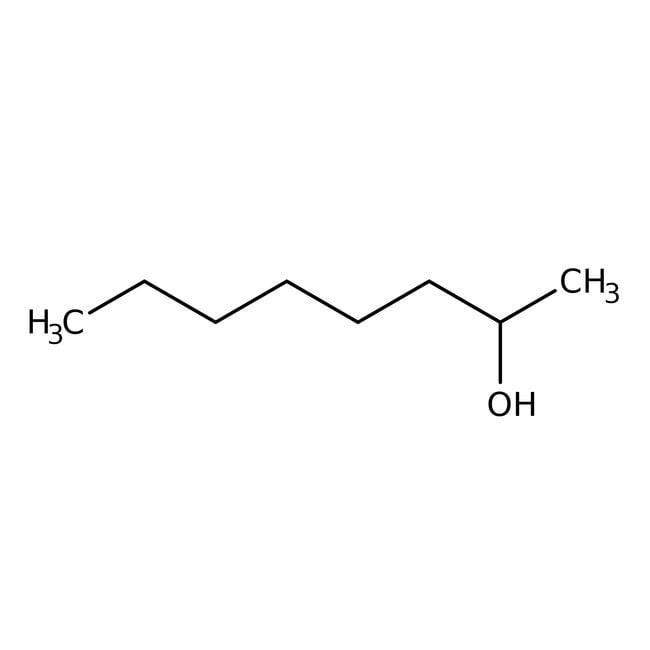 DL-2-Octanol, 97%, ACROS Organics™ 100mL; Glass bottle DL-2-Octanol, 97%, ACROS Organics™