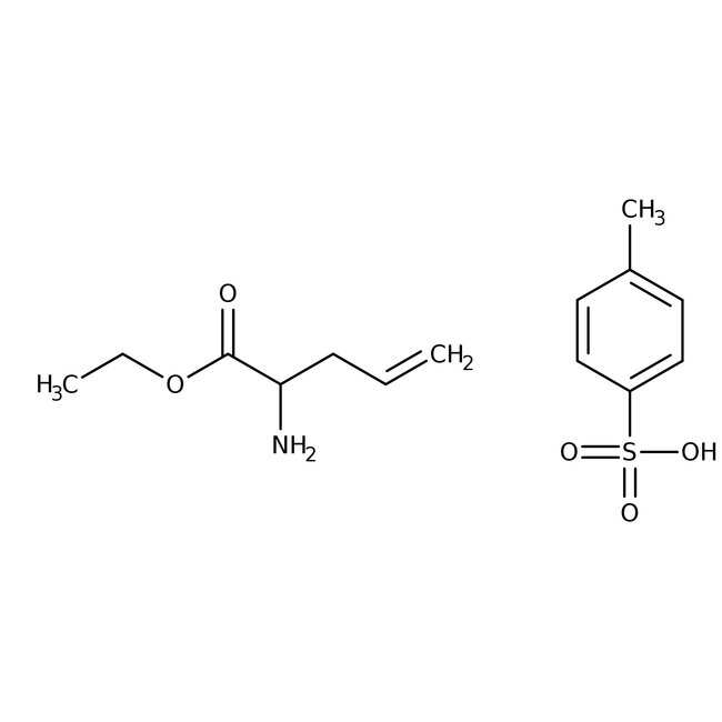 (S)-alpha-Allylglycine ethyl ester p-toluenesulfonate, 98%, 98% ee, Acros Organics