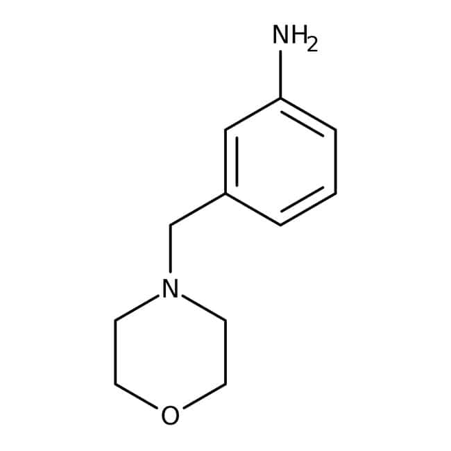 3-(Morpholin-4-ylmethyl)aniline, 95%, Maybridge: Benzene and substituted derivatives Benzenoids