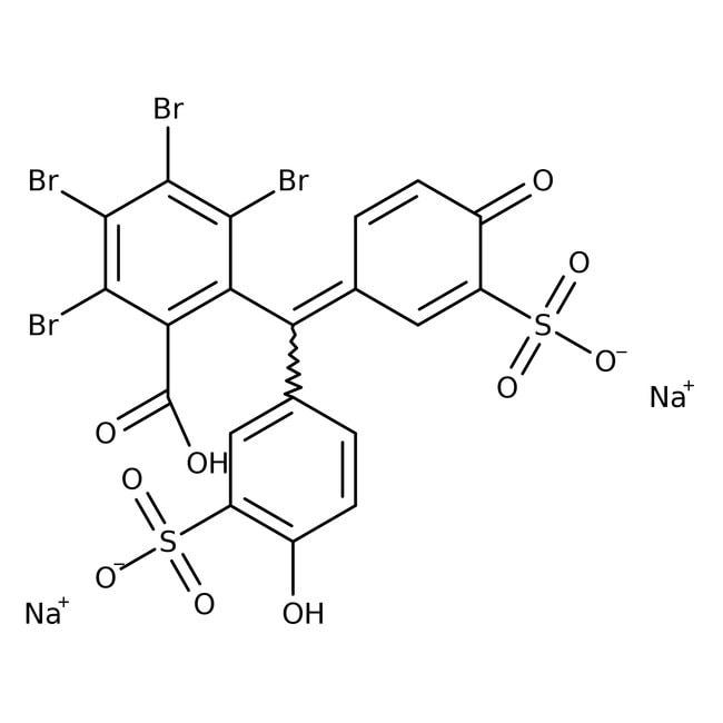 Bromsulfalein-Hydrat, Acros Organics™ 5 g-Glasflasche Bromsulfalein-Hydrat, Acros Organics™