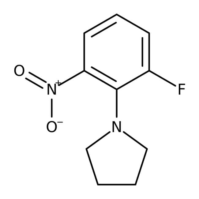 Alfa Aesar™1-(2-Fluoro-6-nitrophenyl)piperidine, 97% 1g Alfa Aesar™1-(2-Fluoro-6-nitrophenyl)piperidine, 97%