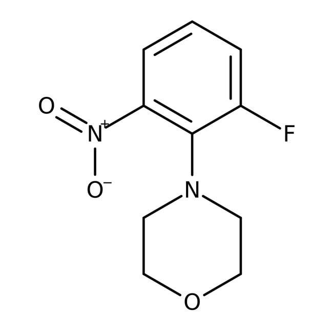 Alfa Aesar™4-(2-Fluoro-6-nitrophenyl)morpholine, 97% 1g Alfa Aesar™4-(2-Fluoro-6-nitrophenyl)morpholine, 97%