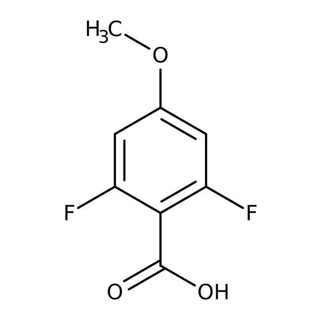 Alfa Aesar™2,6-Difluoro-4-methoxybenzoic acid, 97% 10g Alfa Aesar™2,6-Difluoro-4-methoxybenzoic acid, 97%