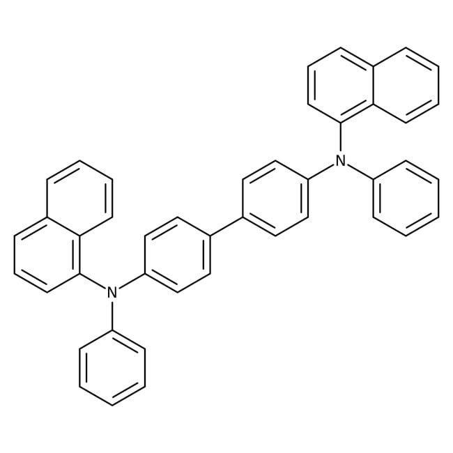 Alfa Aesar™N,N'-Di(1-naphthyl)-N,N'-diphenylbenzidine, 98% 250mg Alfa Aesar™N,N'-Di(1-naphthyl)-N,N'-diphenylbenzidine, 98%