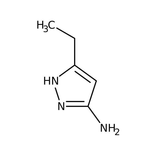 Alfa Aesar™3-Amino-5-ethyl-1H-pyrazole hydrochloride 250mg Alfa Aesar™3-Amino-5-ethyl-1H-pyrazole hydrochloride