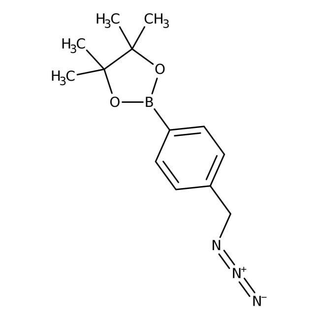 Alfa Aesar  4-(Azidomethyl)benzeneboronic acid pinacol ester, 95%, Thermo Scientific