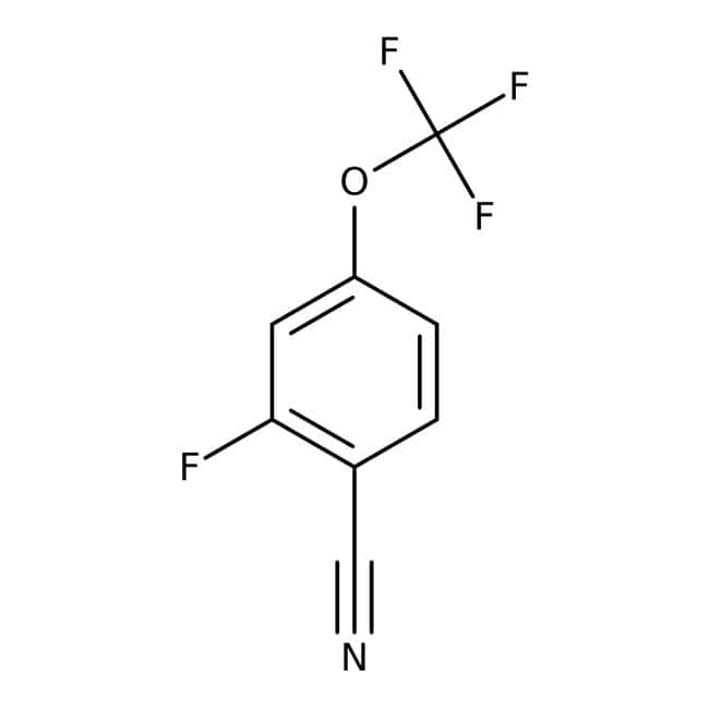 Alfa Aesar™2-Fluoro-4-(trifluoromethoxy)benzonitrile, 97% 5g prodotti trovati