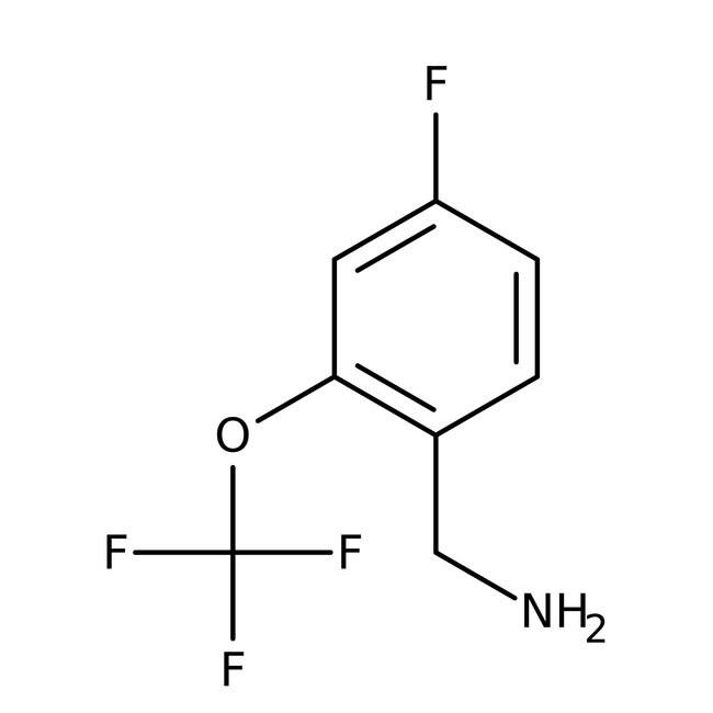 Alfa Aesar™4-Fluoro-2-(trifluoromethoxy)benzylamine, 97% 1g Alfa Aesar™4-Fluoro-2-(trifluoromethoxy)benzylamine, 97%
