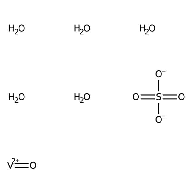 Vanadyl(IV) sulfate hydrate, 17-23% V, ACROS Organics™