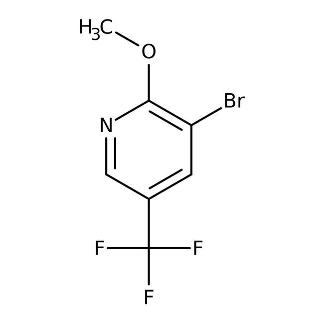 Alfa Aesar  3-Bromo-2-methoxy-5-(trifluoromethyl)pyridine, 98%