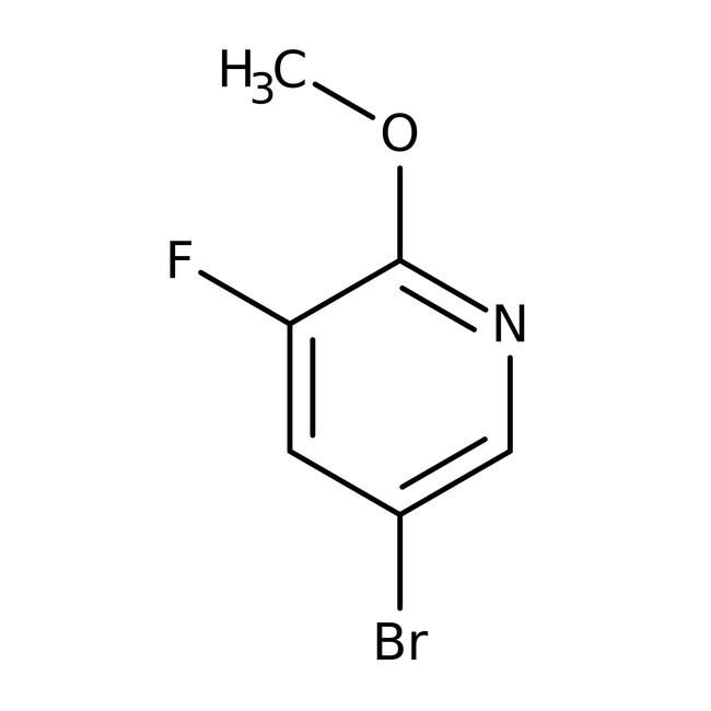 Alfa Aesar™5-Bromo-3-fluoro-2-methoxypyridine, 97% 250mg Alfa Aesar™5-Bromo-3-fluoro-2-methoxypyridine, 97%