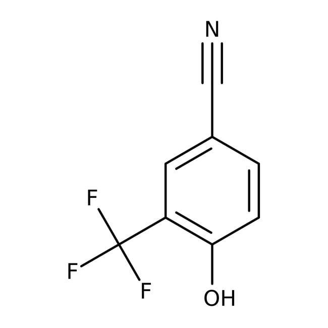 Alfa Aesar™4-hydroxy-3-(trifluorométhyl)benzonitrile, 98+% 5g Alfa Aesar™4-hydroxy-3-(trifluorométhyl)benzonitrile, 98+%