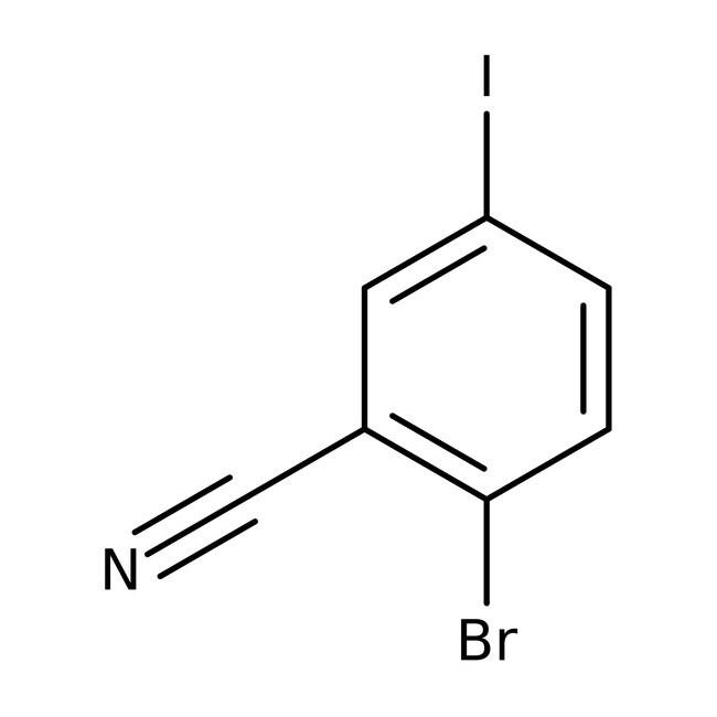Alfa Aesar™2-Bromo-5-iodobenzonitrile, 98% 250mg Alfa Aesar™2-Bromo-5-iodobenzonitrile, 98%