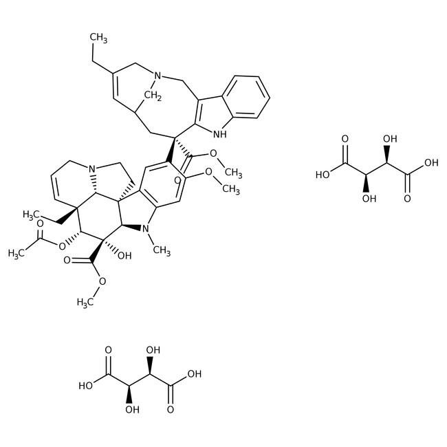 Vinorelbine ditartrate, Tocris Bioscience™ 50mg Vinorelbine ditartrate, Tocris Bioscience™