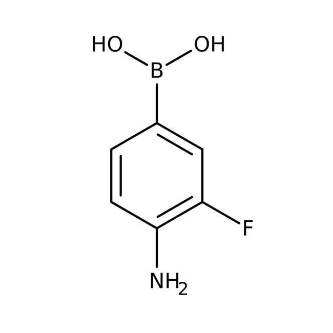 4-Amino-3-fluorophenylboronic acid hydrochloride, 97%, ACROS Organics