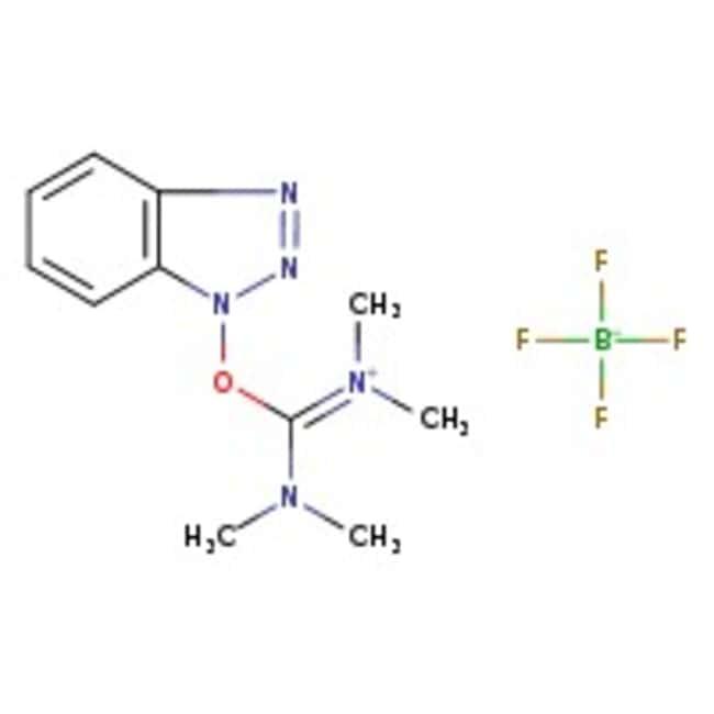 Alfa Aesar™O-(1H-benzotriazol-1-yl)-N,N,N',N'-tétrafluoroborate de tétraméthyluronium, 99% 1g Alfa Aesar™O-(1H-benzotriazol-1-yl)-N,N,N',N'-tétrafluoroborate de tétraméthyluronium, 99%