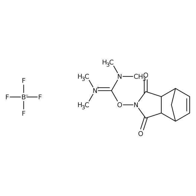 Alfa Aesar™O-(endo-5-Norbornene-2,3-dicarboximido)-N,N,N',N'-tetramethyluronium tetrafluoroborate, 98+%