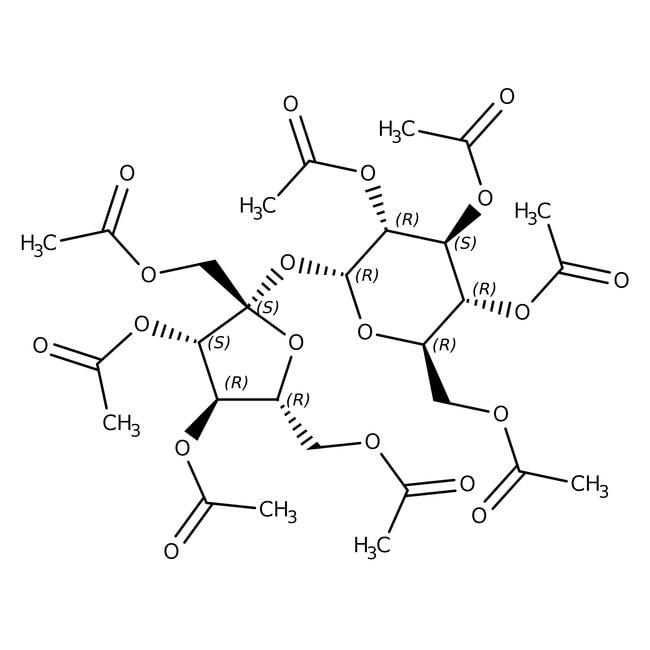 Sucrose Octaacetate, NF, 98-100.5%, Spectrum